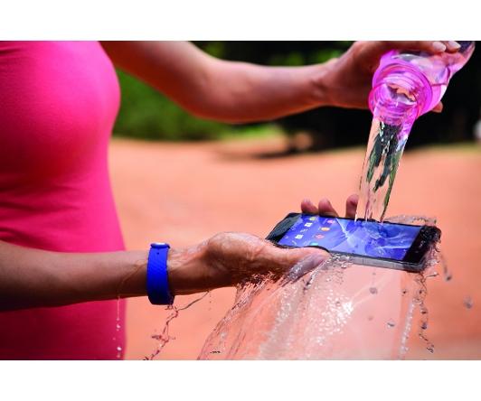 Sony Xperia mit Wasserschutz und Staubschutz