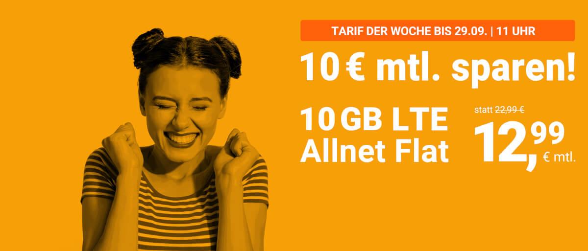 10 € mtl. sparen!