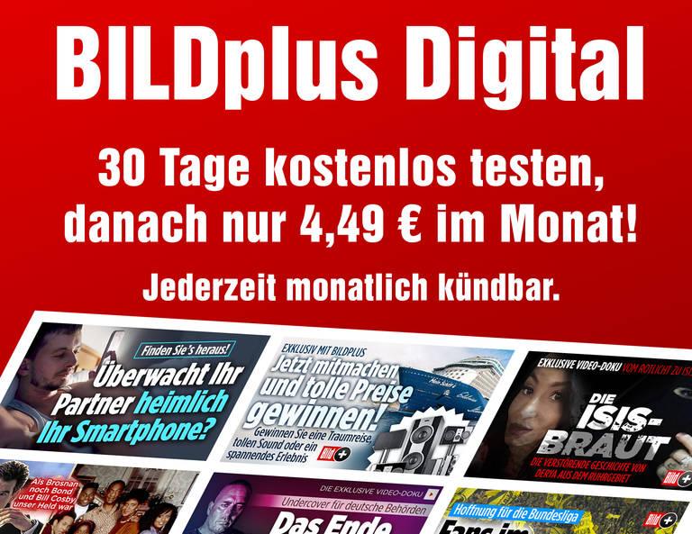 Erleben Sie mit BILDplus die digitale Welt von BILD!