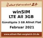 Günstigste 3 GB Allnet Flat – allnet-flat-vergleich-24.de