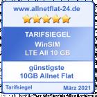 Günstigste 10 GB Allnet Flat - allnetflat-24.de