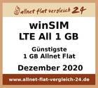 Günstigste 1 GB Allnet Flat – allnet-flat-vergleich-24.de