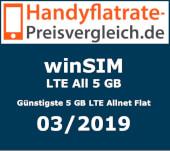 Günstigste LTE All 5 GB - Handyflatrate-preisvergleich.de