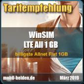 mobil-helden.de - Tarifempfehlung LTE All 1 GB