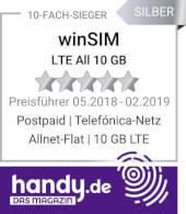 handy.de - Preisführer Allnet Flat 10 GB LTE
