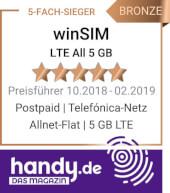 handy.de - Preisführer Allnet Flat 5 GB LTE