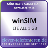 clever-telefonieren.de - winSIM LTE All 1 GB